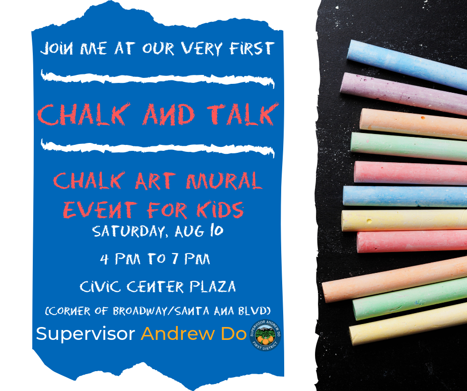 Inaugural Chalk and Talk Event