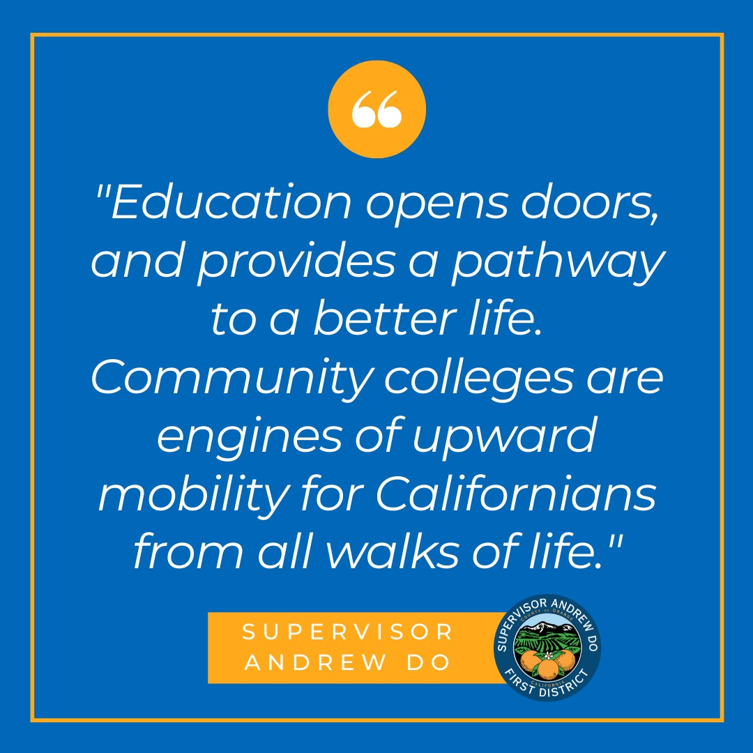 Orange County Approves Partnership with Community Colleges to Promote Employee Advancement