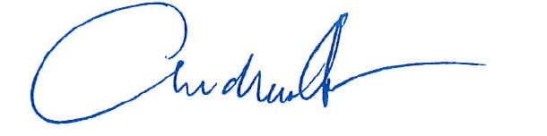 Supervisor Andrew Do's Signature