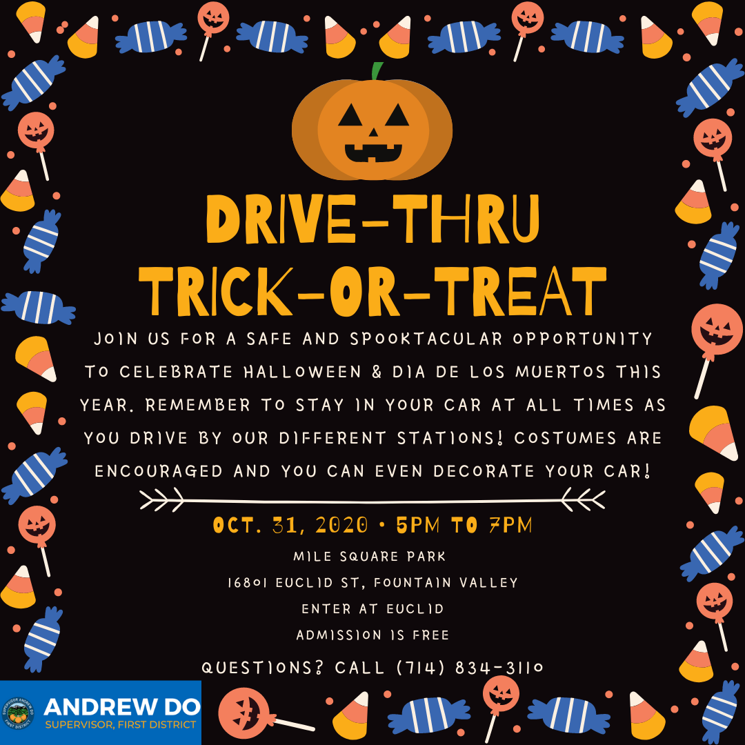Drive-Thru Trick-or-Treat