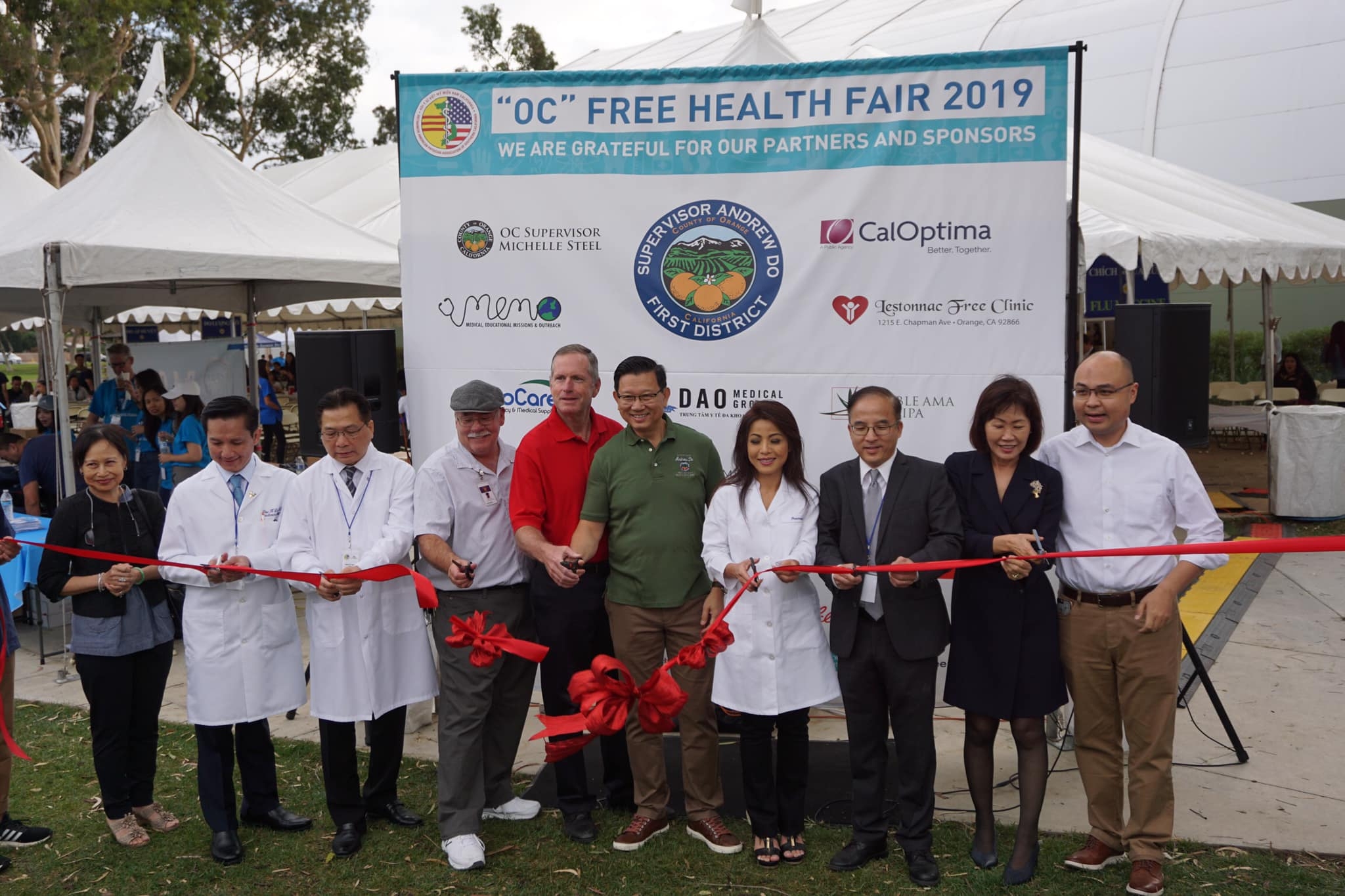 Health Care: More than 2,500 Medical Treatments Were Provided at Orange County's Largest Free Health Fair